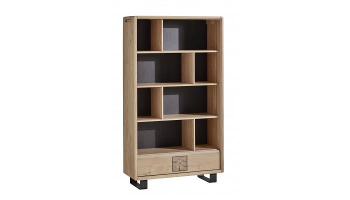 OLYMPE - Bibliothèque ouverte 1 tiroir