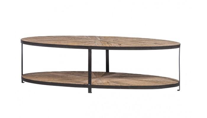 ALMA - Table basse ovale