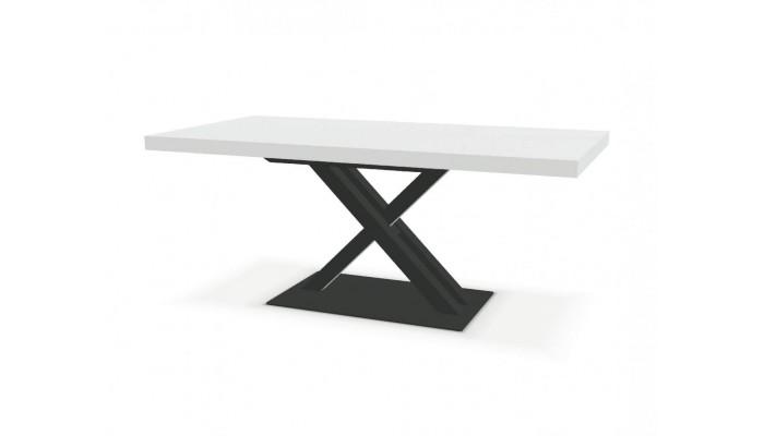 Table pied central avec 1 allonge...