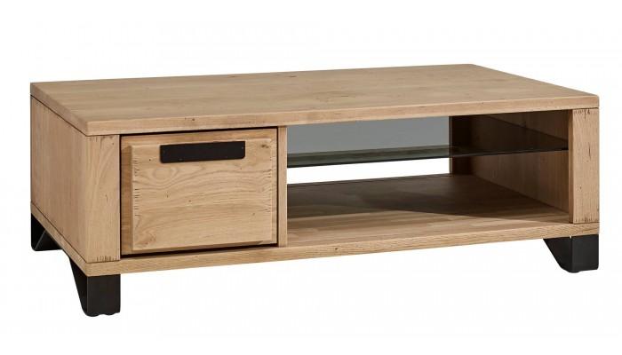 BROOK - Table basse 1 tiroir va et...