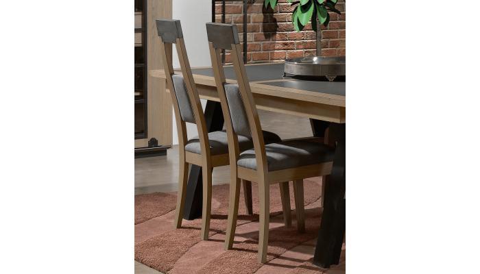 CLEVELAND - Chaise haute en bois