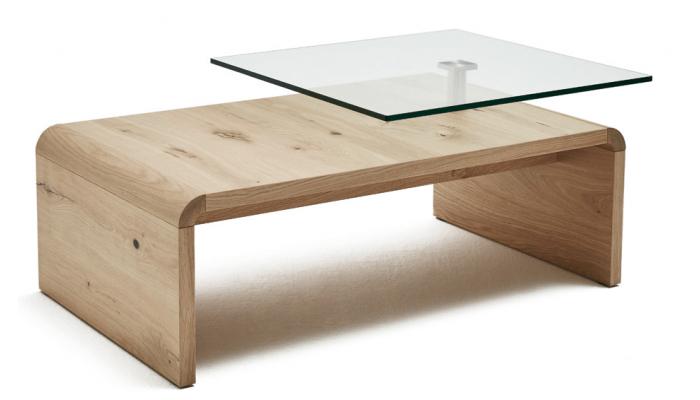 TREVISE - Table basse avec 1 plateau...